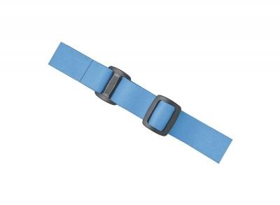 Bandeau 2,5 cm pour lampes frontales 3W 'Sirius', bleu